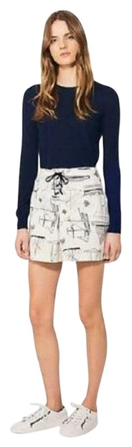 Item - Blue/White Adrift Skirt Size 00 (XXS, 24)