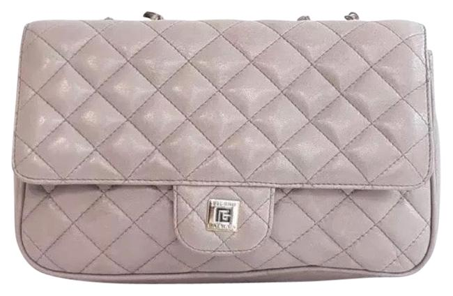 Item - Blush Quilted Leather Pink Shoulder Bag