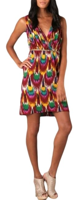 Item - Yellow Red Alameda Short Night Out Dress Size 0 (XS)