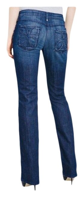Item - Medium Wash Habitual By In Darkness Straight Leg Jeans Size 2 (XS, 26)