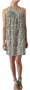 AKA New York short dress White/Black on Tradesy
