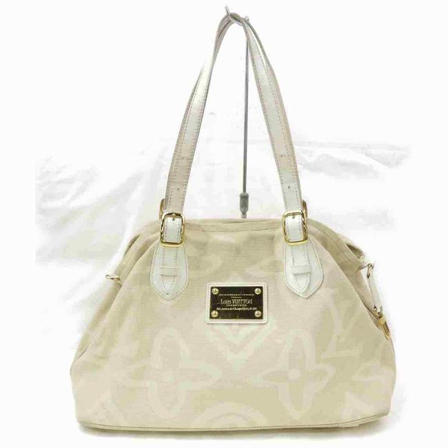 Item - Cabas Tahitienne Pm Rare Limited 860045 Beige Canvas Tote