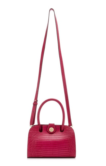 Item - Darling Ladybird Night Out Pink Fuschia Leather Shoulder Bag