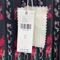 Anthropologie Black/ Red Floral Skirt Size 6 (S, 28) Anthropologie Black/ Red Floral Skirt Size 6 (S, 28) Image 4