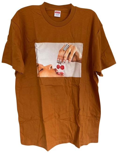 Item - Orange Cherries Tee Shirt Size 12 (L)