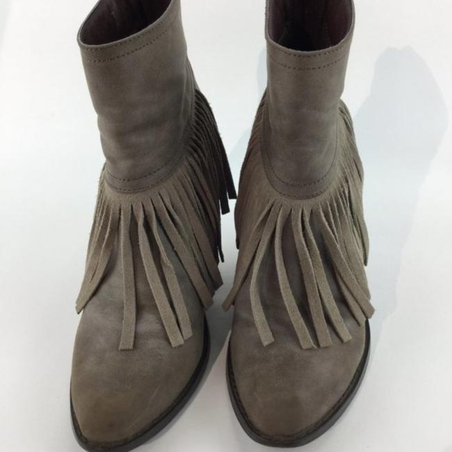 Very Volatile Brown Wedge Fringe Ankle Boots/Booties Size US 7 Regular (M, B) Very Volatile Brown Wedge Fringe Ankle Boots/Booties Size US 7 Regular (M, B) Image 5