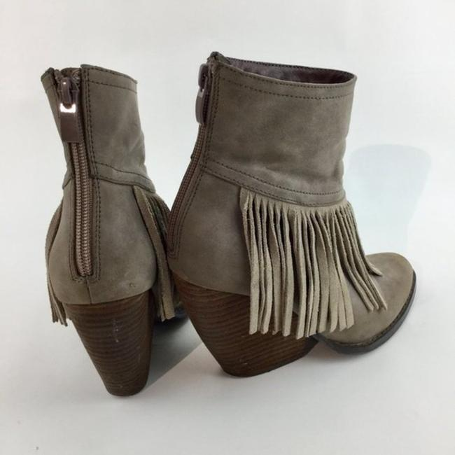 Very Volatile Brown Wedge Fringe Ankle Boots/Booties Size US 7 Regular (M, B) Very Volatile Brown Wedge Fringe Ankle Boots/Booties Size US 7 Regular (M, B) Image 6