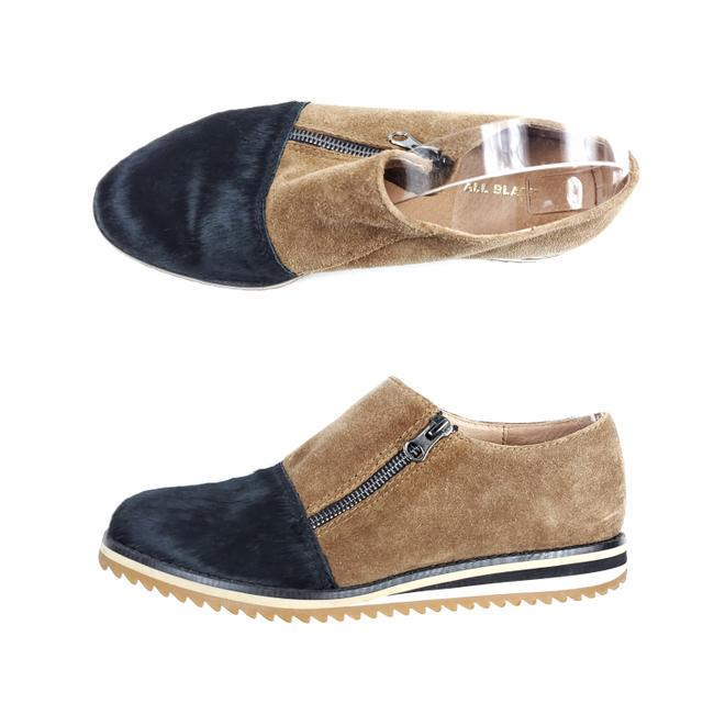 ALL BLACK Brown Suede and Fur Loafers Flats Size EU 38 (Approx. US 8) Regular (M, B) ALL BLACK Brown Suede and Fur Loafers Flats Size EU 38 (Approx. US 8) Regular (M, B) Image 1
