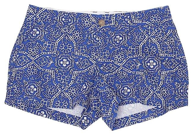 Old Navy Blue Paisley Print Shorts Size 10 (M, 31) Old Navy Blue Paisley Print Shorts Size 10 (M, 31) Image 1