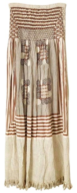 Preload https://img-static.tradesy.com/item/27686527/pink-and-beige-vintage-skirt-size-0-xs-25-0-1-650-650.jpg