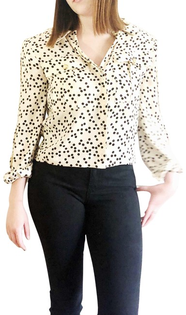 Preload https://img-static.tradesy.com/item/27686543/black-and-white-vintage-for-starington-blouse-size-4-s-0-1-650-650.jpg