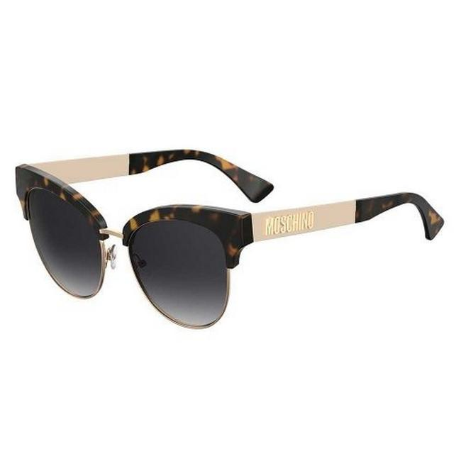 Moschino Tortoise Mos038-s-086-9o-55 Size 55mm 145mm 17mm Sunglasses Moschino Tortoise Mos038-s-086-9o-55 Size 55mm 145mm 17mm Sunglasses Image 1