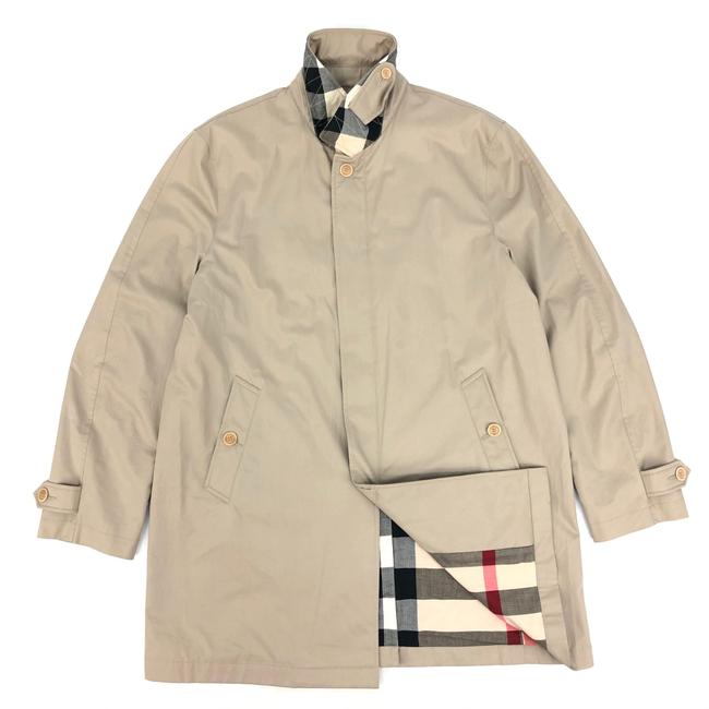 Item - Beige W Mens Nova Check Coat Size 16 (XL, Plus 0x)