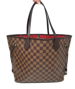Louis Vuitton Neverful Mm Bags Shoulder Bags Like New Tote in Brown