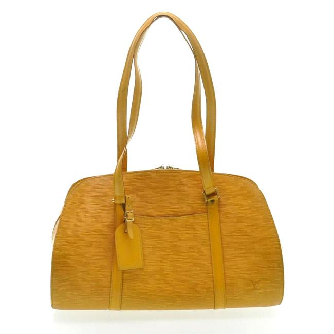 Louis Vuitton Solferino 45 Epi #5018l22 Yellow Shoulder Bag Louis Vuitton Solferino 45 Epi #5018l22 Yellow Shoulder Bag Image 1