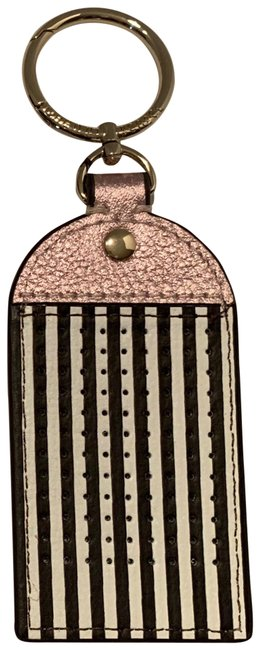 Henri Bendel Brown & White Key Chain Or Purse Charm Henri Bendel Brown & White Key Chain Or Purse Charm Image 1