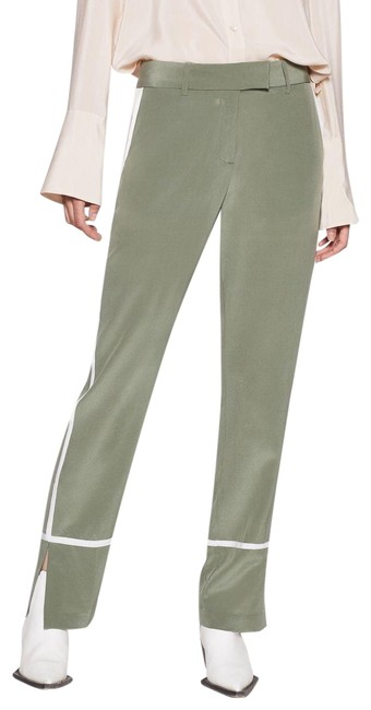 Preload https://img-static.tradesy.com/item/27686870/equipment-green-florence-silk-pants-size-4-s-27-0-1-650-650.jpg