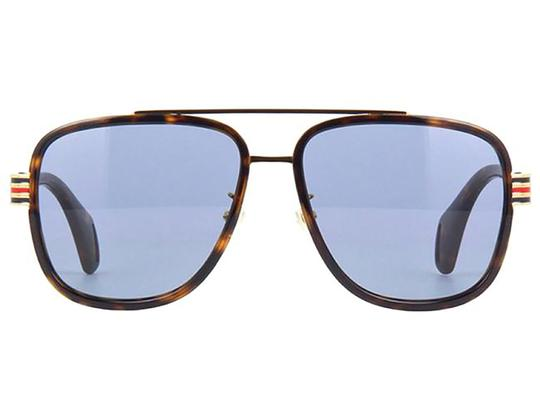 Preload https://img-static.tradesy.com/item/27686914/gucci-havana-blue-aviator-gg0448s-004-58mm-sunglasses-0-0-540-540.jpg