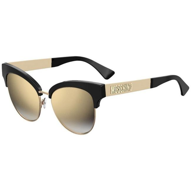Moschino Black Mos038-s-807-fq-55 Size 55mm 145mm 17mm Sunglasses Moschino Black Mos038-s-807-fq-55 Size 55mm 145mm 17mm Sunglasses Image 1