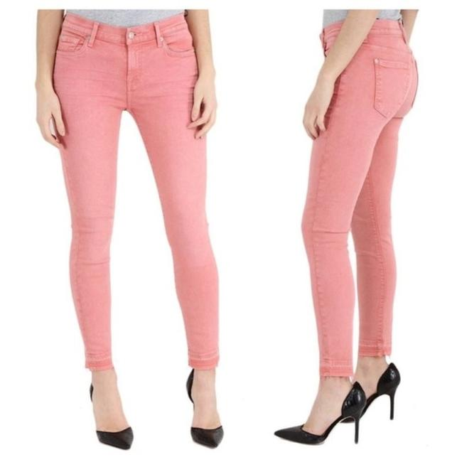 Item - Pink Light Wash Ankle Primrose Skinny Jeans Size 27 (4, S)