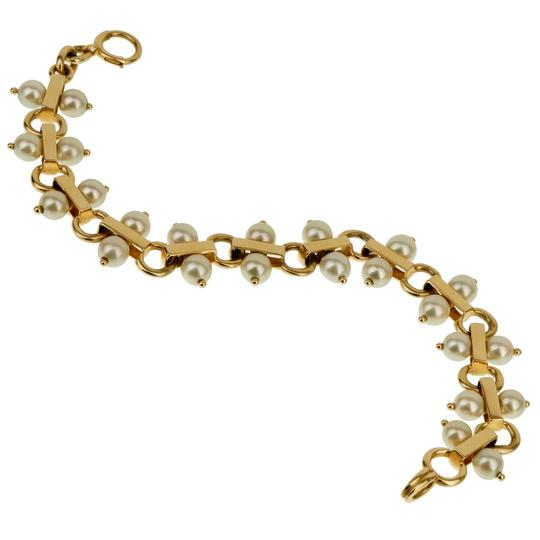 Preload https://img-static.tradesy.com/item/27686971/tiffany-and-co-yellow-gold-co-vintage-pearl-1842-bracelet-0-0-540-540.jpg