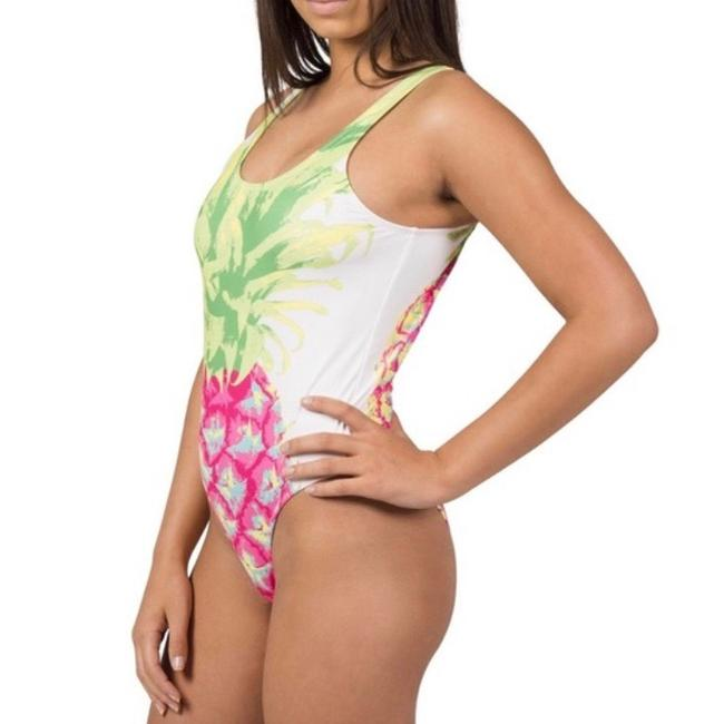 Preload https://img-static.tradesy.com/item/27687055/white-green-and-pink-one-piece-bathing-suit-size-4-s-0-3-650-650.jpg