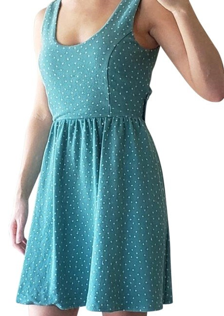 Preload https://img-static.tradesy.com/item/27687181/lc-lauren-conrad-bluegreenteal-summer-crossback-short-casual-dress-size-4-s-0-1-650-650.jpg