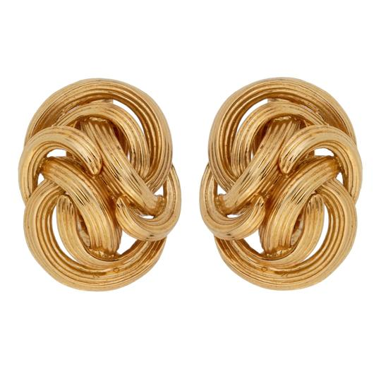 Preload https://img-static.tradesy.com/item/27687191/tiffany-and-co-yellow-gold-co-braided-clip-on-1053-earrings-0-0-540-540.jpg