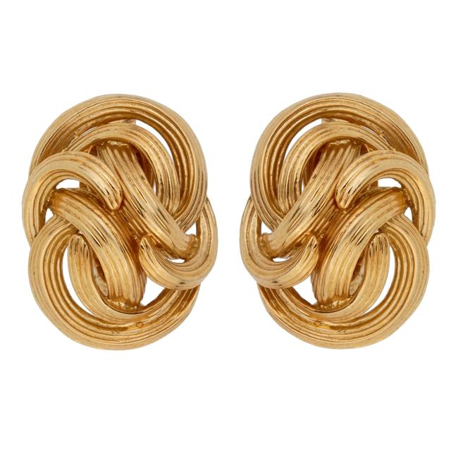 Tiffany & Co. Yellow Gold Co Braided Clip On 1053 Earrings Tiffany & Co. Yellow Gold Co Braided Clip On 1053 Earrings Image 1