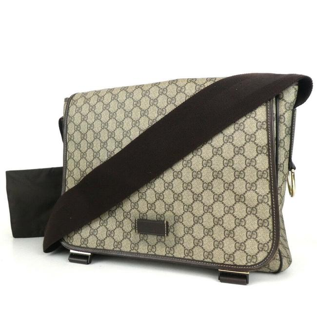 Gucci Shoulder Gg Canvas #5033g29 Brown Cross Body Bag Gucci Shoulder Gg Canvas #5033g29 Brown Cross Body Bag Image 1