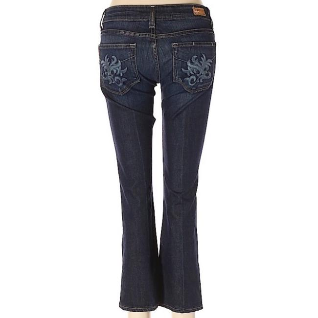 Item - Medium Blue Wash Laurel Canyon Crop Capri/Cropped Jeans Size 6 (S, 28)