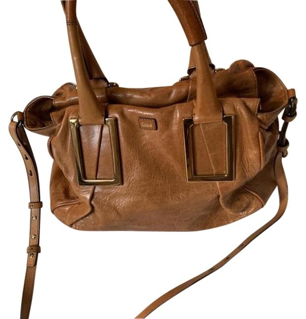 Item - Ethel Medium Handbag Tan/Beige Nutmeg Leather Shoulder Bag