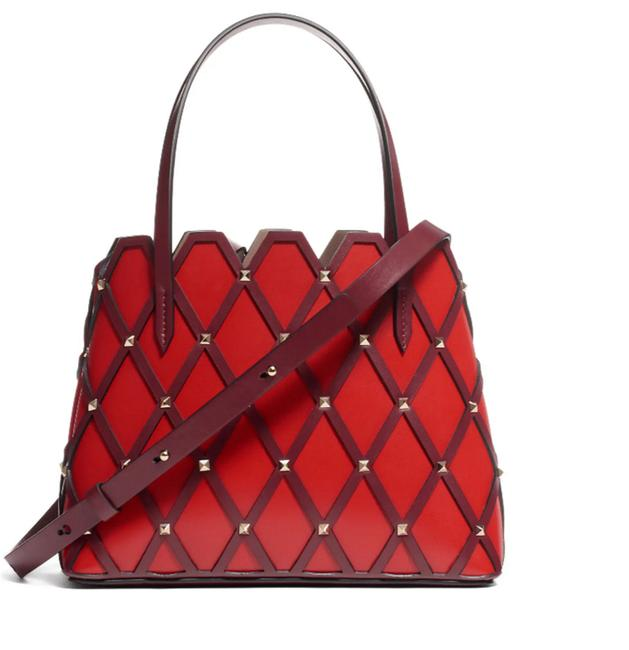Item - Small Beehive Tote Red Leather Shoulder Bag
