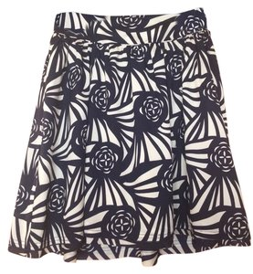 Corelynn Calter Skirt Navy And Off-white