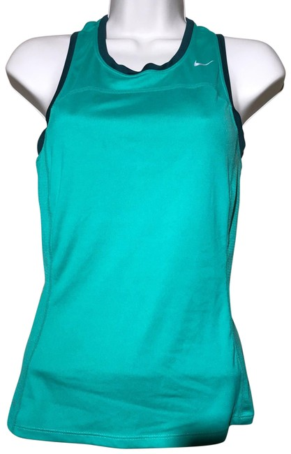 Item - Green Dri Fit Activewear Top Size 4 (S)