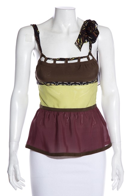 Item - Multicolor Sleeveless Blouse Size 4 (S)