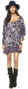 Free People short dress eggplant on Tradesy