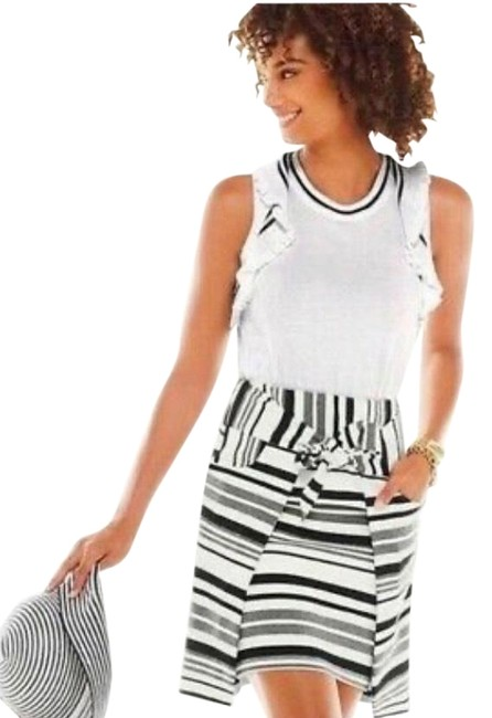 Item - Black and White Tank Top/Cami Size 10 (M)