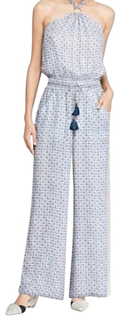 Item - Blue French Silk Bay Marigold S M 2 Jumpsuit Pants Size 4 (S, 27)