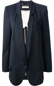 Chloé Navy Chloe Boyfriend Midnight Blue Blazer