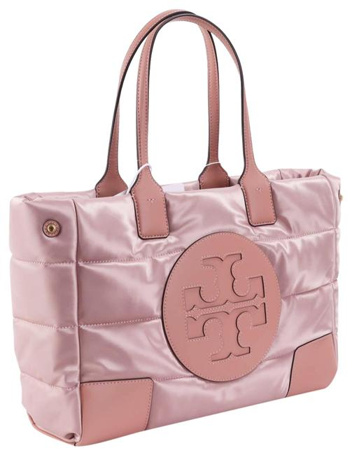 Item - Ella Quilted Puffer Pink Nylon Tote