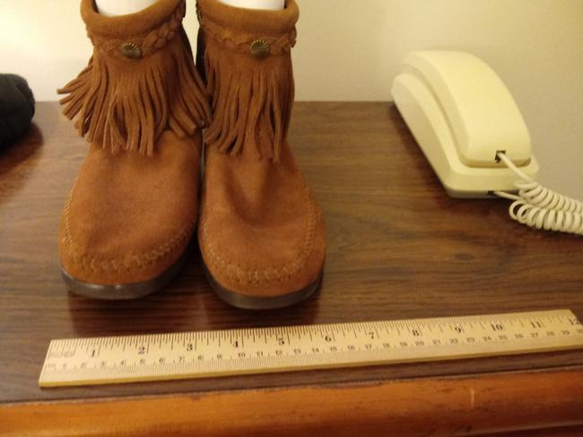 Item - Brown Moccasin Boots/Booties Size US 8.5 Regular (M, B)