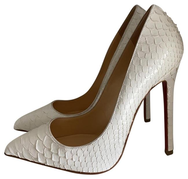 Item - White Python Pigalle Pumps Size EU 37 (Approx. US 7) Regular (M, B)