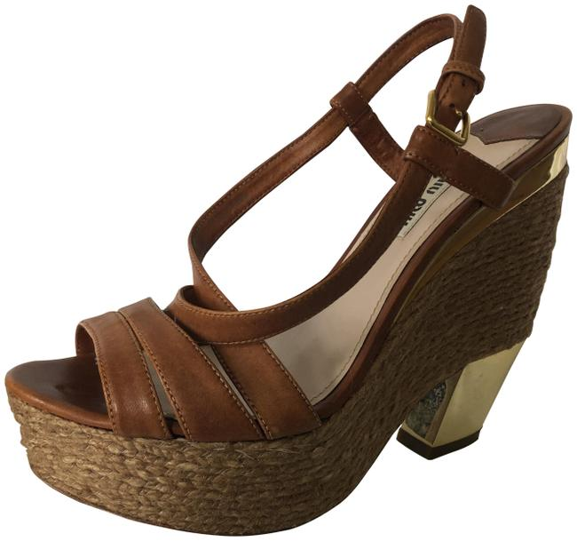 Item - Tan Rope and Leather Sandals Size EU 39 (Approx. US 9) Regular (M, B)