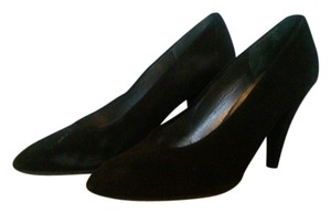 Charles Jourdan Velvet black suede Pumps