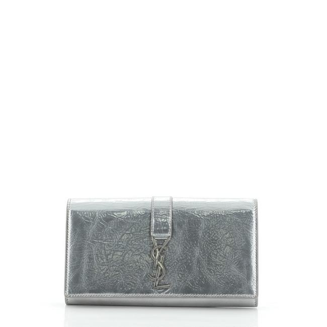 Item - Silver Universite Wallet Leather Watch