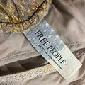 Free People Gold Cream Silver Black Lace Short Casual Dress Size 0 (XS) Free People Gold Cream Silver Black Lace Short Casual Dress Size 0 (XS) Image 8