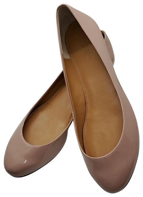 Item - Pink Lily Metallic-heel Patent Leather Flats Size US 8 Regular (M, B)