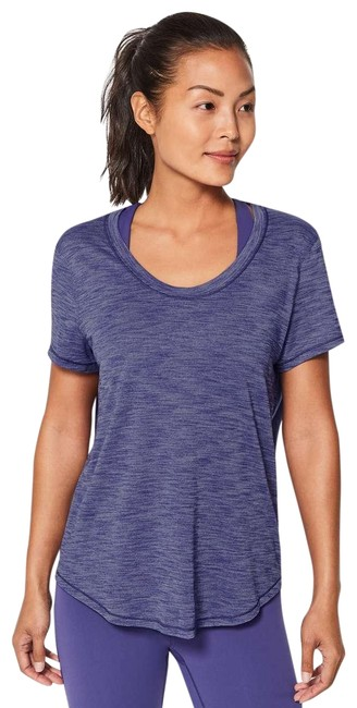 Item - Purple Meant To Move Heathered Stony Grape Activewear Top Size 12 (L)