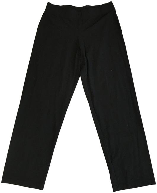 Item - Black Straight Leg Pants Size 12 (L, 32, 33)